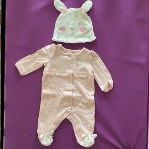 NWOT Koala Baby Newborn bunny Easter outfit